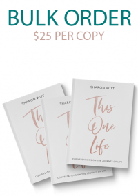 This One Life Book by Sharon Witt, Melbourne Author and teacher