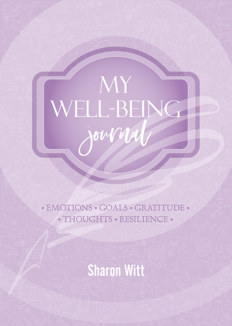 My well-being journal Lilac Colour