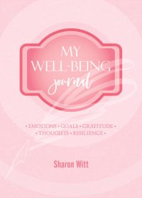 My well-being journal Rose colour by Sharon Witt