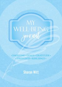 My well-being journal Sky Blue colour by Sharon Witt