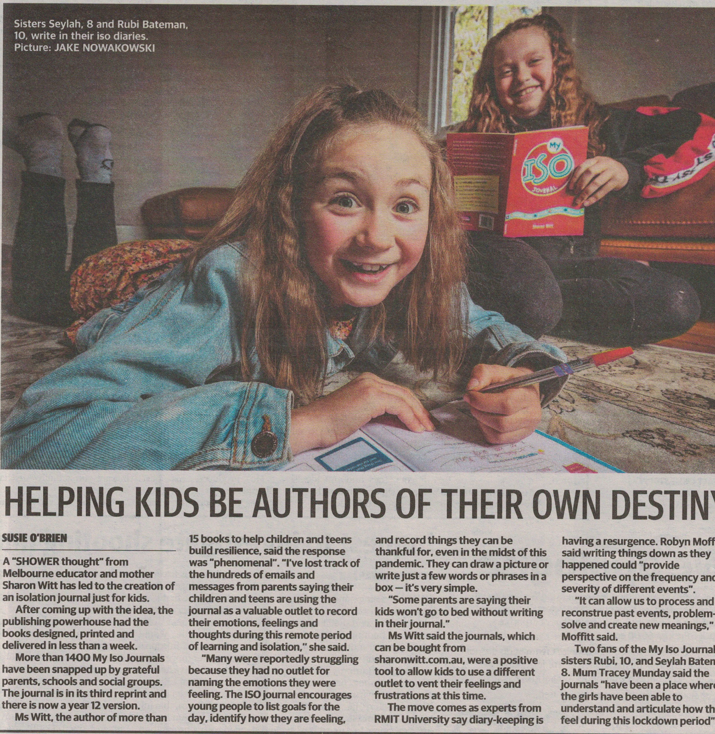 Sharon Witt, Herald Sun Interview